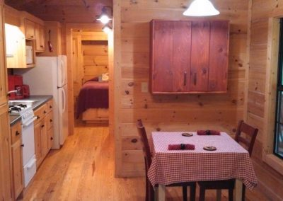 Dining Area in the Cabin in the Woods