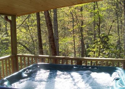Cabin on the Hill Hot Tub