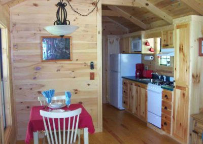 Cabin on Hill - Kitchen