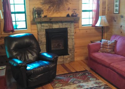 Living Room in the Cabin in the Woods